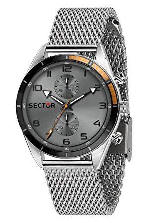 Sector No Limits Män analog kvartsklocka med rostfritt stål armband R3253516005