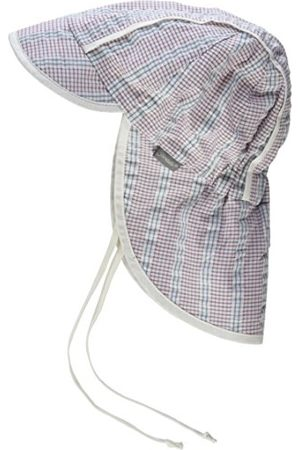 Sterntaler Skärm mössa för pojkar med nackskydd och bindband