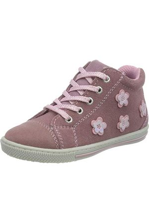 Lurchi Baby-flicka Beba sneaker, Vildberry25 EU