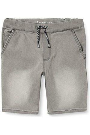 Sanetta Pojkbyxor av stickad tyg grå jeans