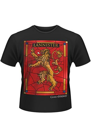 Plastic Head Plasthuvud herr Game of Thrones House Lannister bandad krage kortärmad t-shirt