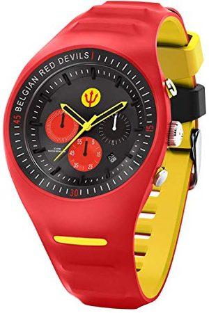 Ice-Watch – röd DEVILS P. Leclercq – röd – armbandsur för män med silikonrem – Chrono – 016102 (stor)