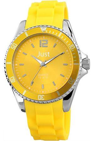 Just Watches Unisex-armbandsur analog kvarts gummi 48-S3862-YL