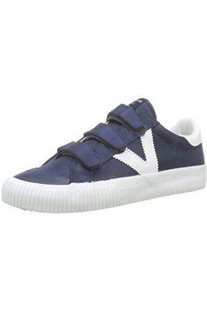 victoria Unisex tribu velcros nylon sneaker, Marino 30-36 EU