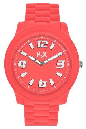Haurex Unisex analog kvarts klocka med gummi armband SO381XO2