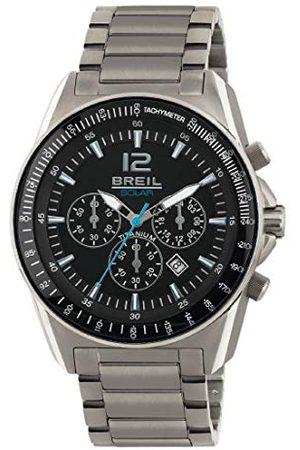 Breil Herr kronograf kvarts smart klocka armbandsur med titan armband TW1657