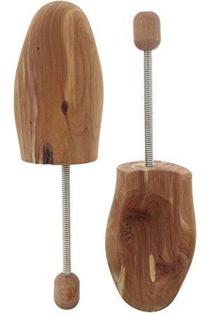 Bama Täljträ skospänne, spiralnyckel av aromatiskt doftande cederträ, unisex, färglös46/47 EU