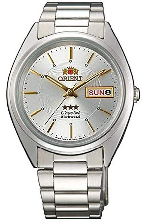 Orient Unisex vuxna analog automatisk klocka med rostfritt stål armband FAB0006W9