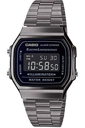 Casio Mäns digital japansk kvarts klocka med rostfritt stål armband A168WEGG-1BEF