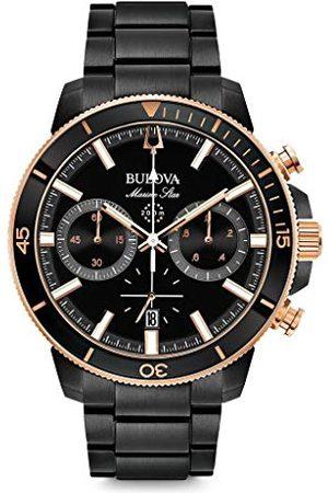 BULOVA Man Klockor - Herrar analog kvarts klocka med rostfritt stål armband 98B302