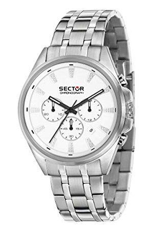 Sector No Limits Män analog kvartsur med rostfritt stål armband R3273991005