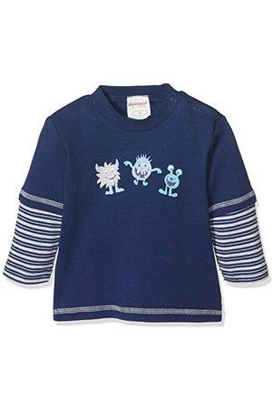 Schnizler Baby-pojkar svett-shirt interlock liten monster långärmad tröja