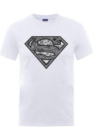 DC Män DC0001611 Officiell Superman Nått Logotyp Crew Neck Kortärmad T-shirt