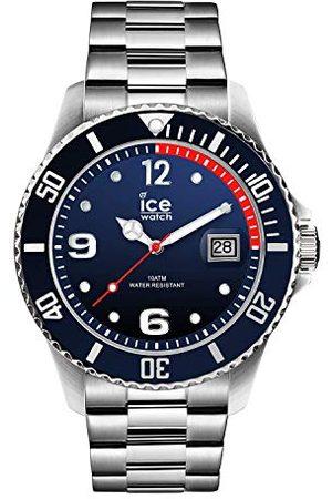 Ice-Watch – ICE stål marinsilver – armbandsur för män med metallrem – 015775 (stor)