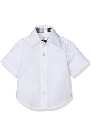 Gol Baby-pojkar kort ärm kentkrage, regulularfit skjortor
