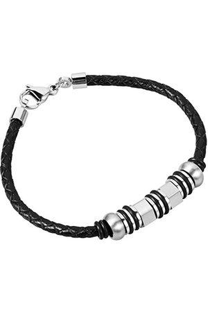 Burgmeister Burgmeister unisex-armband rostfritt stål 21 cm – JBM1170-749