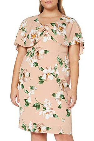 Gina Bacconi Dam Leyna blommig Georgette klänning cocktail