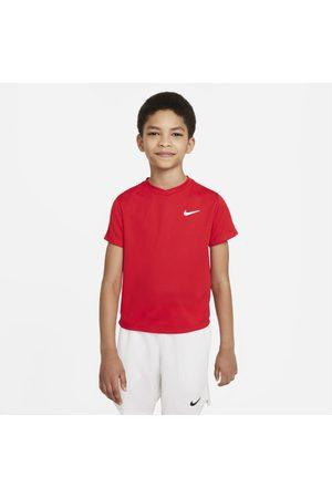 Nike Pojke Hoodies - Kortärmad tenniströja Court Dri-FIT Victory för ungdom (killar)