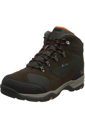 Hi-Tec Herr storm Wp Wide Walking-sko, Dk choklad Dk brinnad brinnad orange50 EU