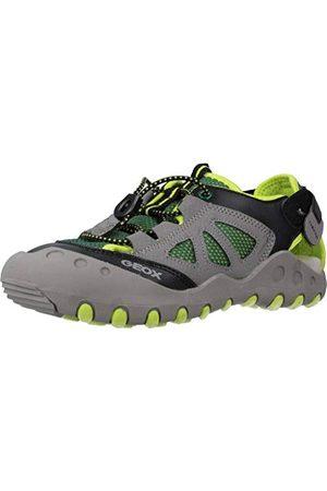 Geox Pojkar Jr Kyle B slutna sandaler, grön30 EU
