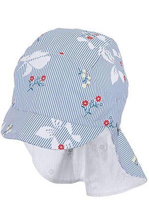Sterntaler Stjärntaler babyflicka paraplyöverdrag med nackskydd mössa, (himmel 325), XXXX-Large (tillverkarstorlek: 49)