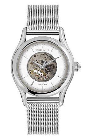 Trussardi Herr analog automatisk klocka med rostfritt stål armband R2423127001