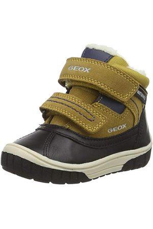 Geox Baby-pojkar B Omar Pojke Wpf B Ankelstövel, Dk Grey Azure21 EU