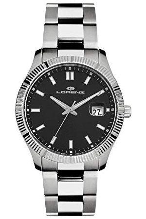 Stadlbauer Lorenz herr analog kvartsklocka med rostfritt stål armband 026978GG