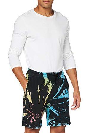 Urban classics Herr Sweat Tie Dye Batik shorts