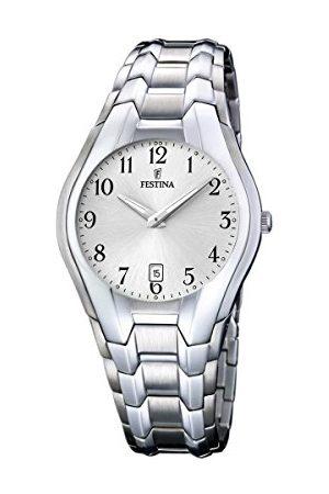 Festina Herr analog kvartsklocka med rostfritt stål armband F16370/6