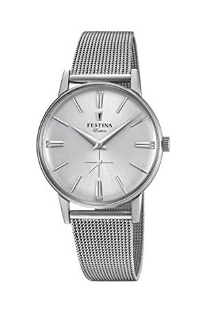 Festina Herr analog kvartsklocka med rostfritt stål armband F20252/1