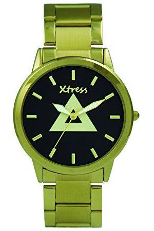 XTRESS Herr analog kvartsklocka med rostfritt stål armband XPA1033-06