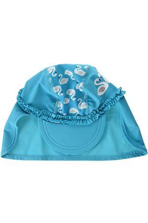 Playshoes Flicka mössa UV-skydd badmössa svans