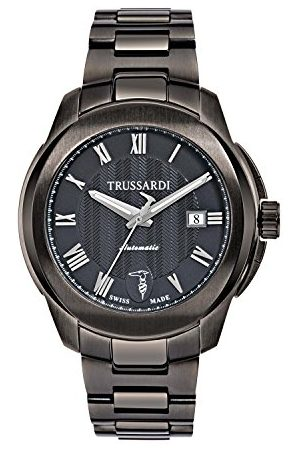 Trussardi Analog automatisk klocka med rostfritt stål armband R242310001