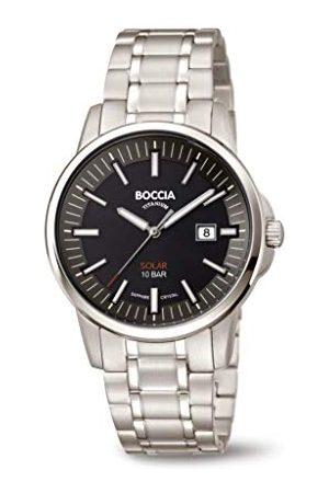 Boccia Herr analog kvartsklocka med titanarmband 3643–04