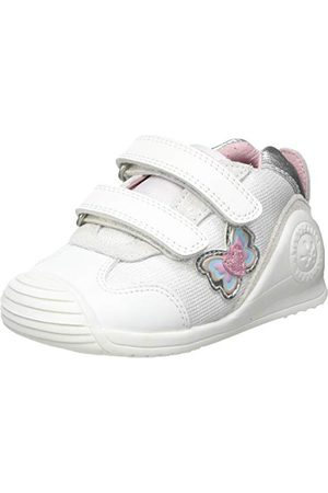 Biomecanics Babyflicka 212122-b sneaker, Blanco Sauvage 2 Y textil19 EU