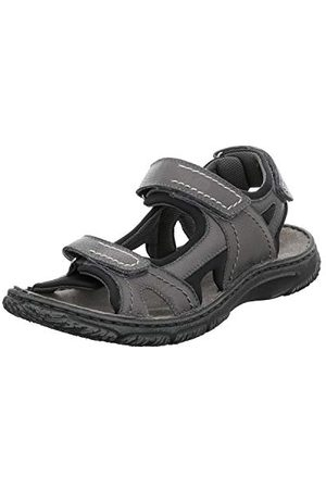Josef Seibel Herr Carlo 03 Slingback sandaler, asfalt 780-42 EU