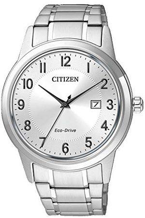 Citizen Herr analog kvartsklocka med rostfritt stål armband AW1231-58B