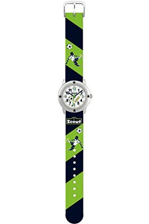 Scout Pojkar analog kvartsklocka med PU-armband 280393004