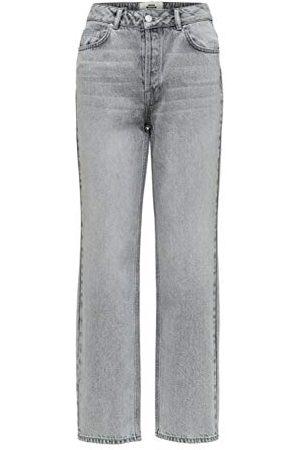 Selected Dam Slfkate Hw Straight Blast W jeans