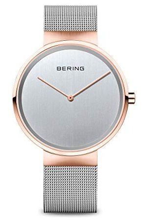 Bering Unisex analog kvartsklocka med rostfritt stålrem Armband 31 mm