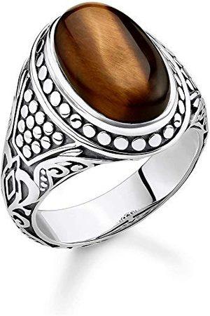 Thomas Sabo Män silver piercing ring e Silver, colore: , cod. TR2241-826-2-62