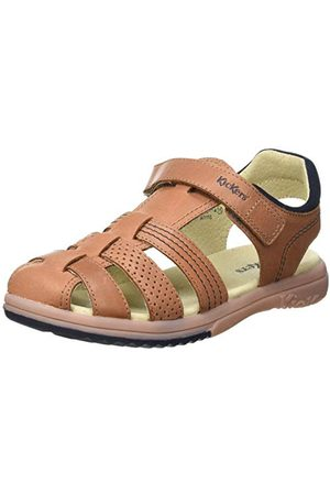 Kickers Män platina sandaler, Kamel35 EU