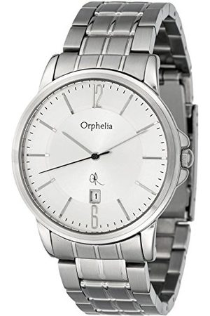 ORPHELIA Herrarmbandsur XL analog rostfritt stål 132-7708-88
