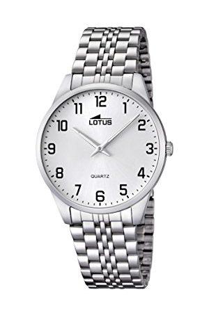 Lotus Herr analog kvartsklocka med rostfritt stål armband 15883/1
