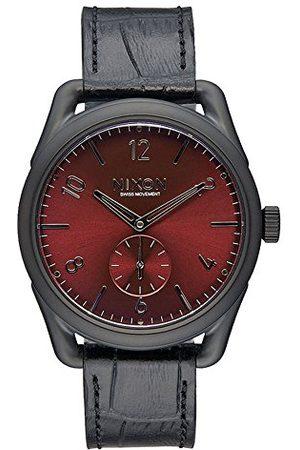 Nixon Unisex-armbandsur C39 läder analog kvarts läder A4591886-00