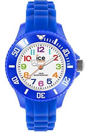 Ice-Watch – Ice Mini Blå – Pojkar armbandsur med silikonarmband – 000745 (extra liten)