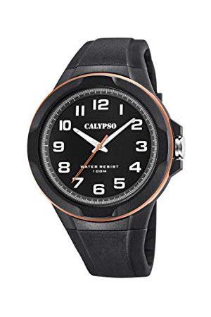 Calypso Calypso klockor herr analog klassisk kvartsklocka med plastrem K5781/6