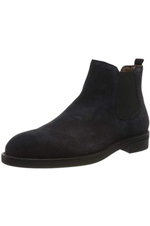 Stonefly Herr Carnaby Velour Chelsea Boots, limo 100-43 EU