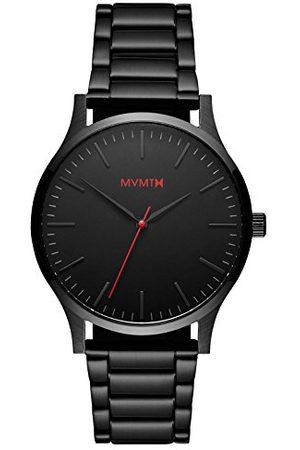 MVMT Herr analog kvartsklocka med rostfritt stålrem D-MT01-BL